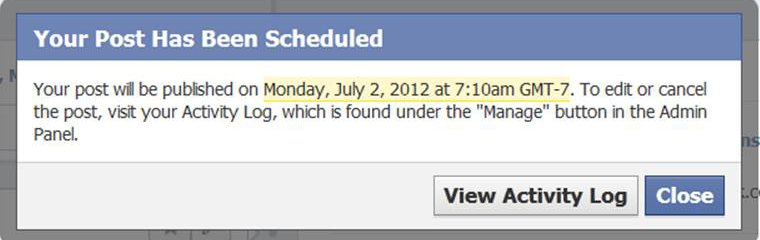 how to clear my activity log on facebook